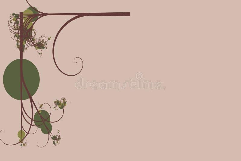 Arte della vigna illustrazione di stock