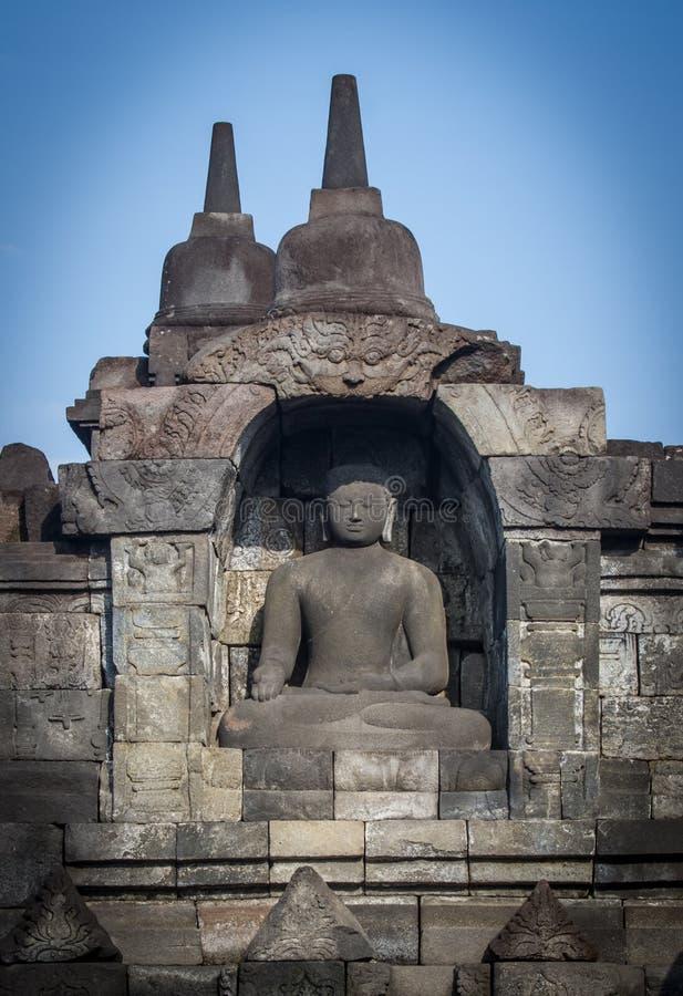 Arte di Borobudur immagine stock libera da diritti
