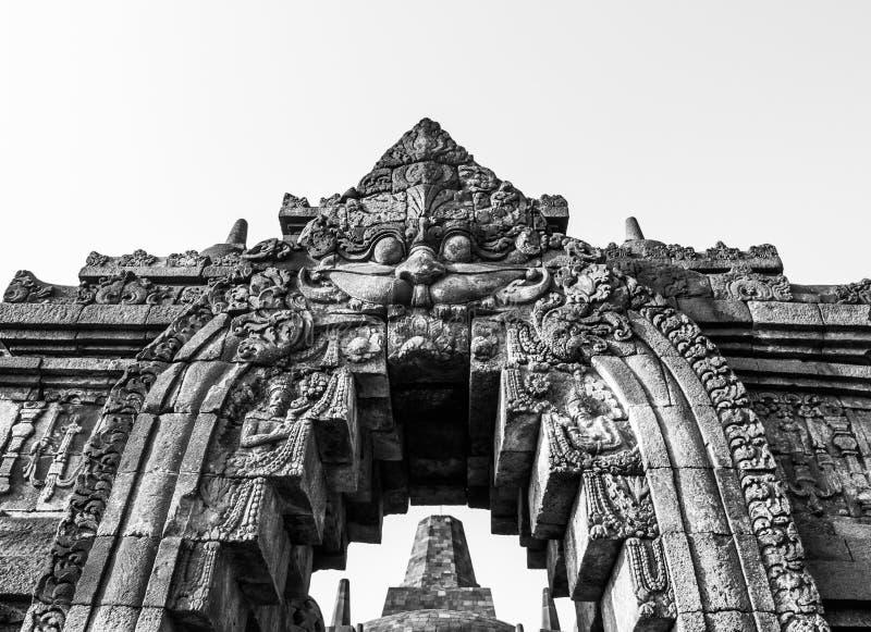 Arte di Borobudur fotografia stock libera da diritti
