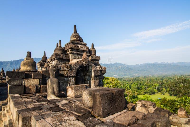 Arte di Borobudur immagine stock