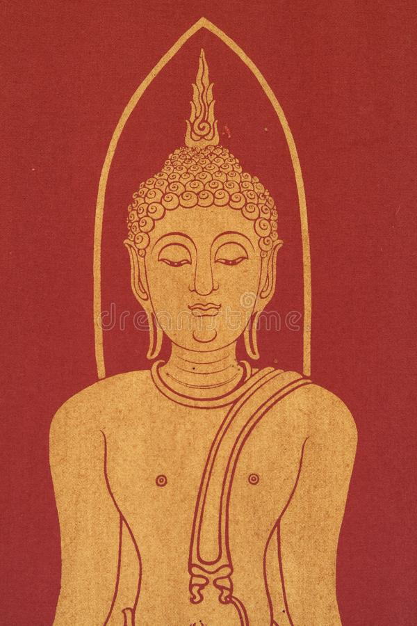 Arte di buddismo fotografie stock