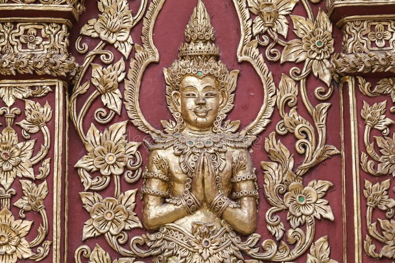 Arte di buddismo fotografia stock