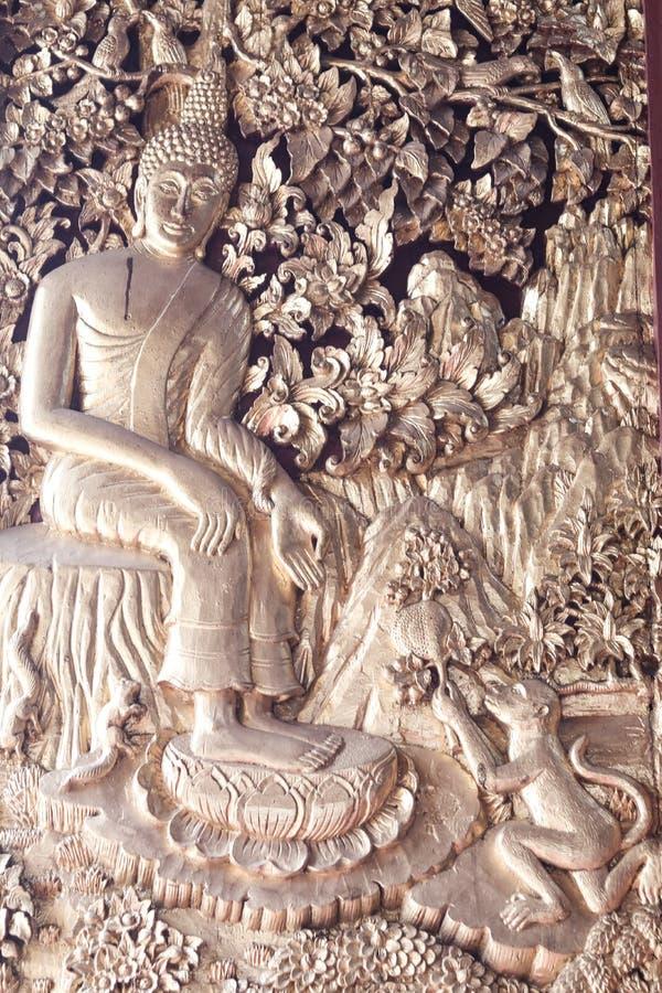 Arte di buddismo fotografie stock libere da diritti
