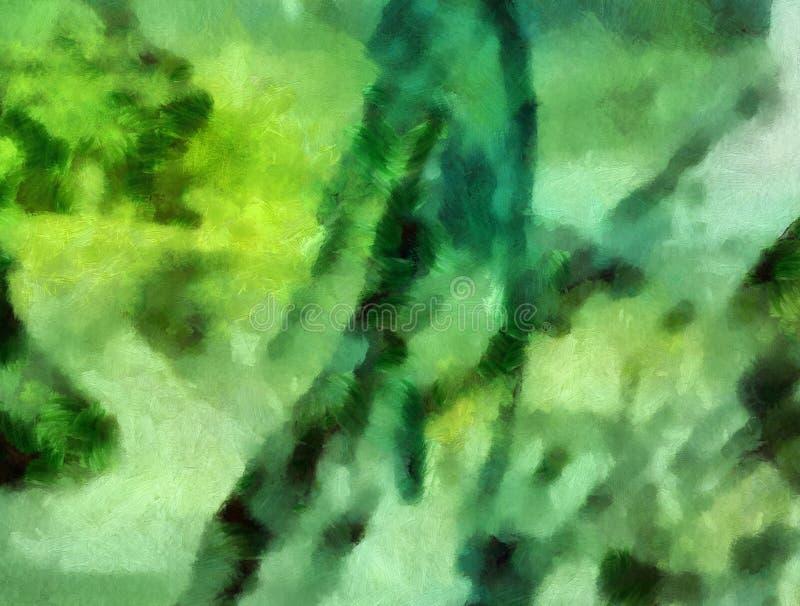 Arte di struttura dell'estratto della miscela di colore dell'impressione Fondo luminoso artistico Materiale illustrativo della pi illustrazione vettoriale
