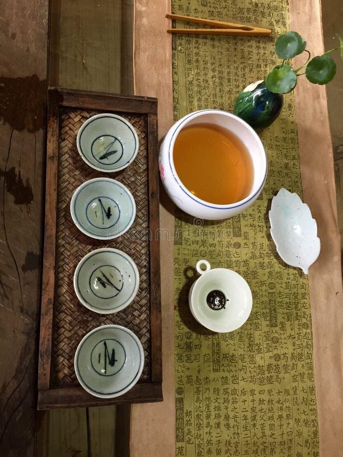 Arte do chá foto de stock royalty free