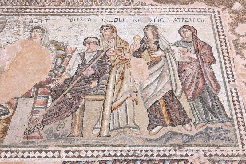 Arte do grego clássico foto de stock