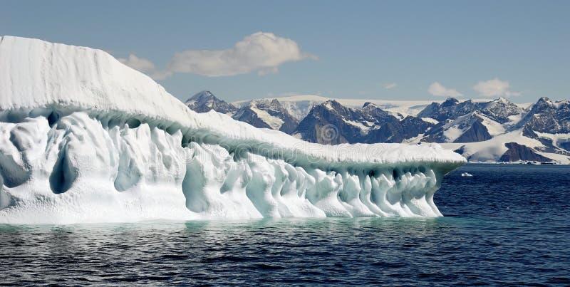 Arte do iceberg foto de stock royalty free