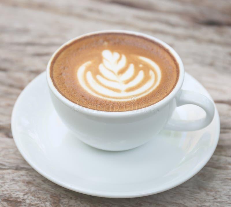 Arte do Latte fotografia de stock