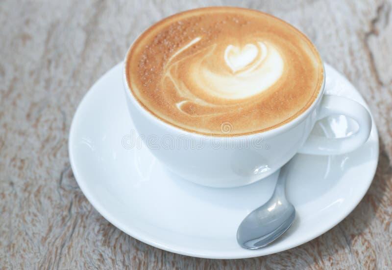 Arte do Latte imagem de stock royalty free