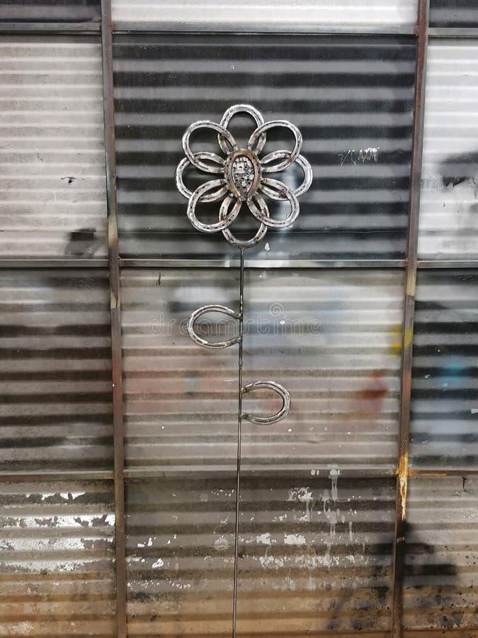 Arte do metal foto de stock