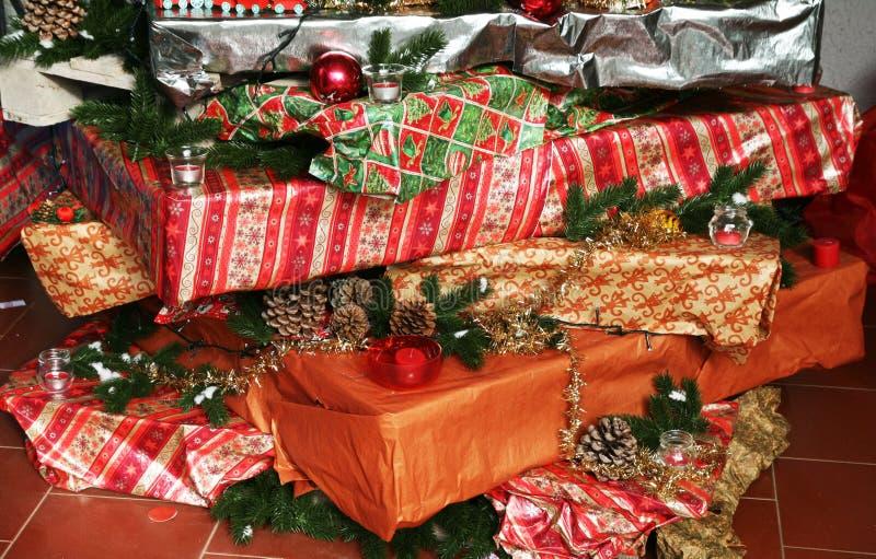 Arte do Natal foto de stock royalty free