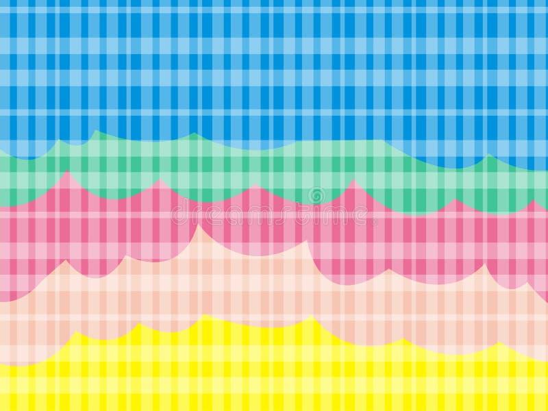 Arte do papel de parede da tira do arco-íris fotografia de stock royalty free
