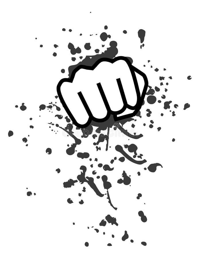 Arte do perfurador ilustração do vetor