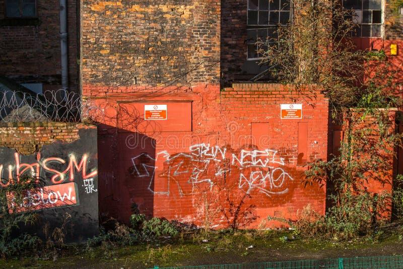 Arte e graffiti della via immagini stock libere da diritti
