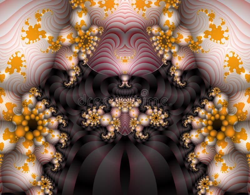 Arte extranjero del fractal libre illustration