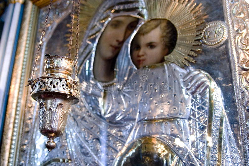 Arte -final da vela e do cristão imagens de stock royalty free