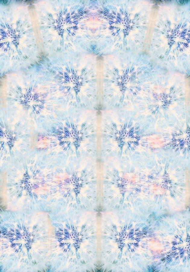 Arte finala brilhante lisa gerada por computador colorida artística do teste padrão dos fractals das rosas ilustração stock