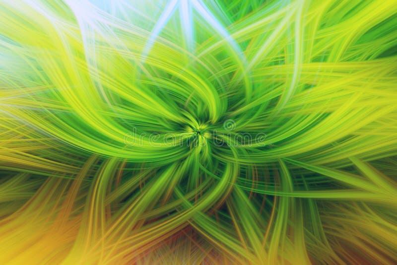 Arte floral da proemin?ncia do fundo do fractal papel de parede da flor ilustração do vetor