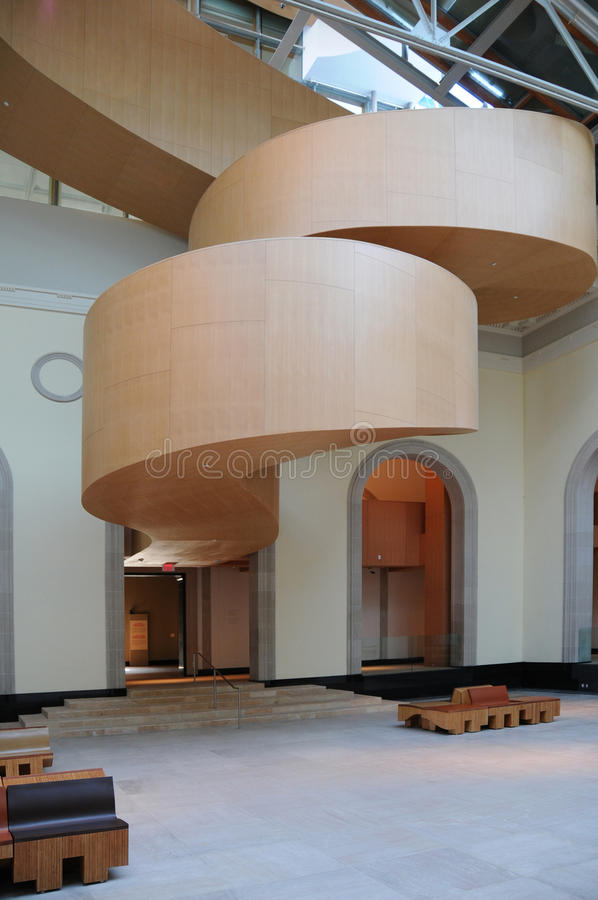 Arte Galler da escadaria de Ontário Gehry