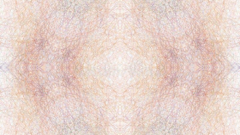 Arte gráfica abstrata de Digitas no fundo branco ilustração royalty free