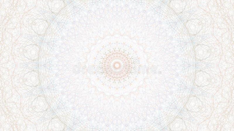 Arte gr?fica abstrata de Digitas no fundo branco ilustração do vetor