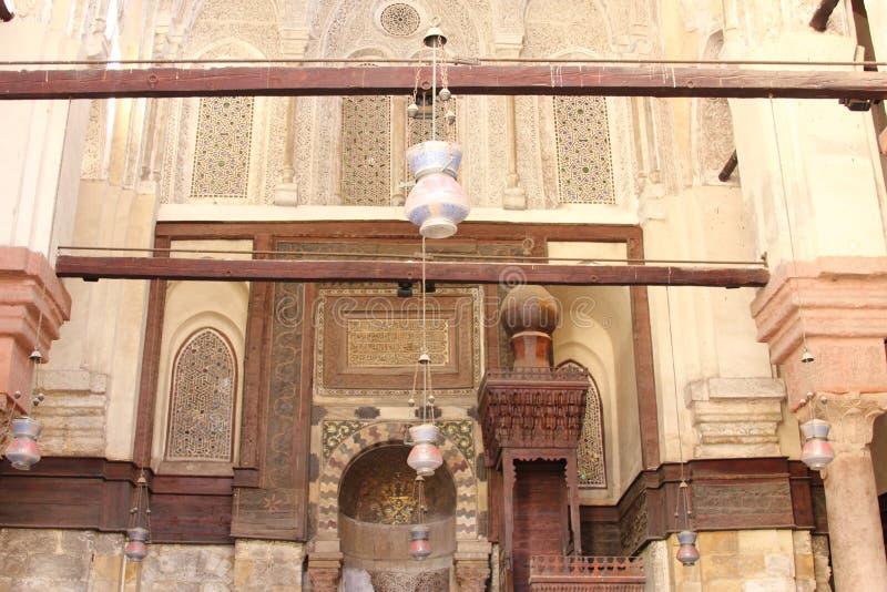 Arte islamica nell'egitto immagine stock libera da diritti