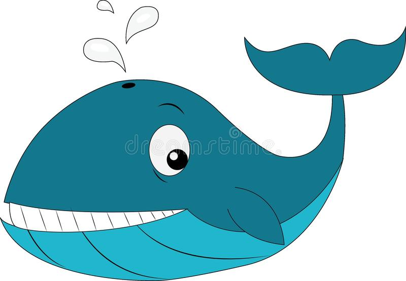Arte lindo de la historieta de DolphinSuper fotografía de archivo libre de regalías