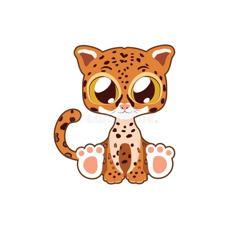 Arte lindo del ejemplo del vector de Jaguar libre illustration