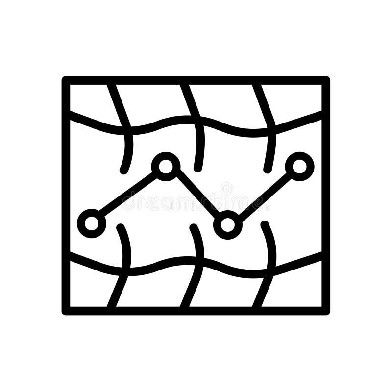 Arte linear del icono árabe del arte fotos de archivo