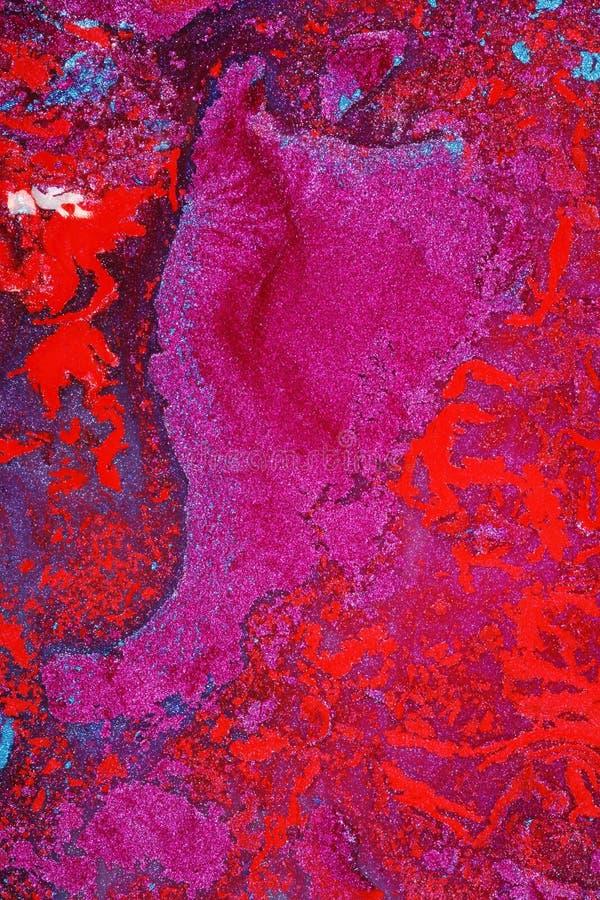 Arte luminosa della tela di canapa fotografia stock