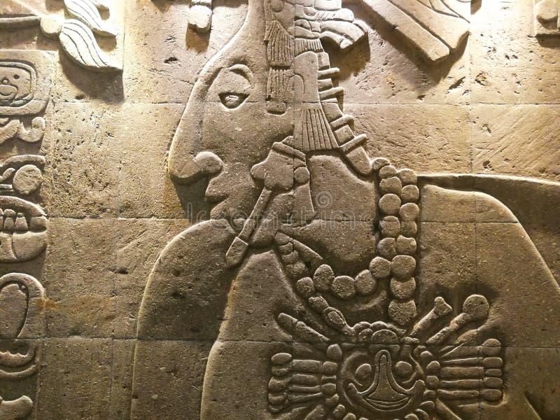 Arte maia antiga imagem de stock royalty free