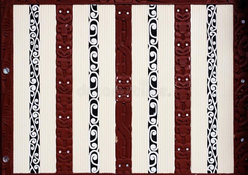 Arte maorí imagenes de archivo