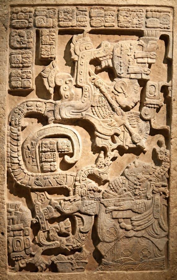 Arte mexicana Pre-columbian imagem de stock