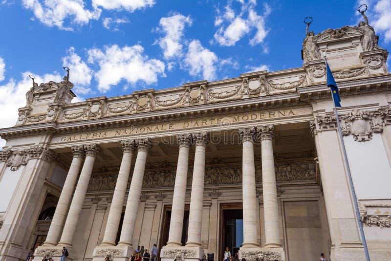 ` Arte Moderna Nazionale d Galleria, Рим, Италия стоковые фотографии rf