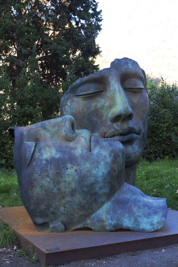 Arte moderno en Pompeya imágenes de archivo libres de regalías