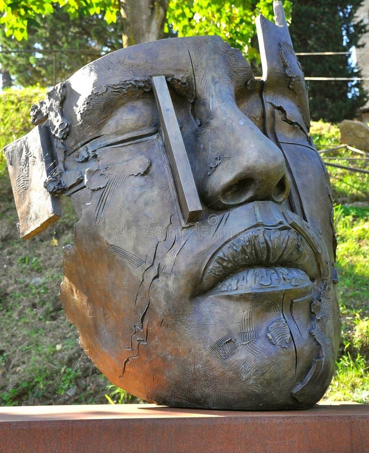 Arte moderno: Statua della Ophelia   fotografie stock libere da diritti