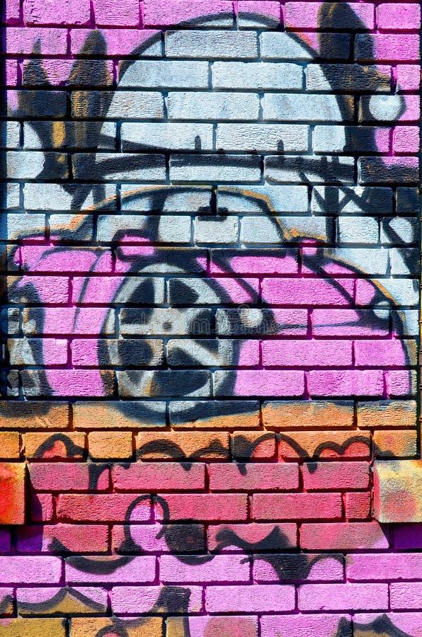 Arte Montreal della via immagini stock