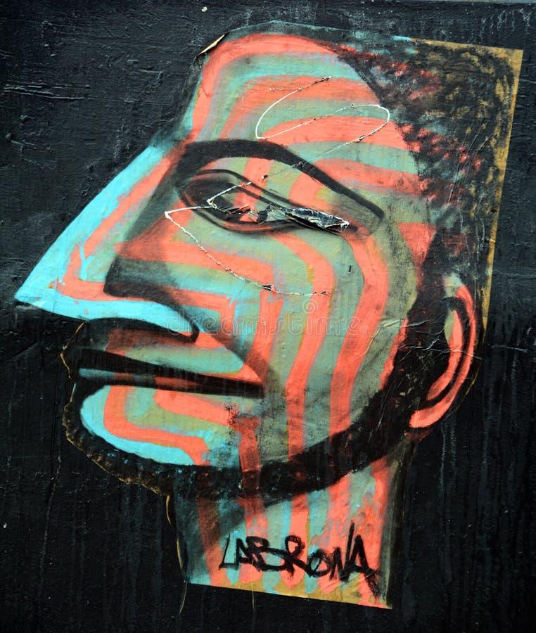 Arte Montreal della via immagine stock