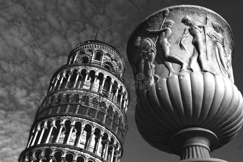 Arte na cidade de Pisa fotografia de stock royalty free