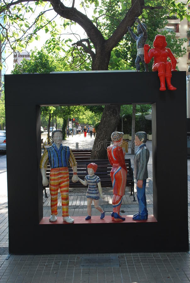 Arte na rua fotos de stock