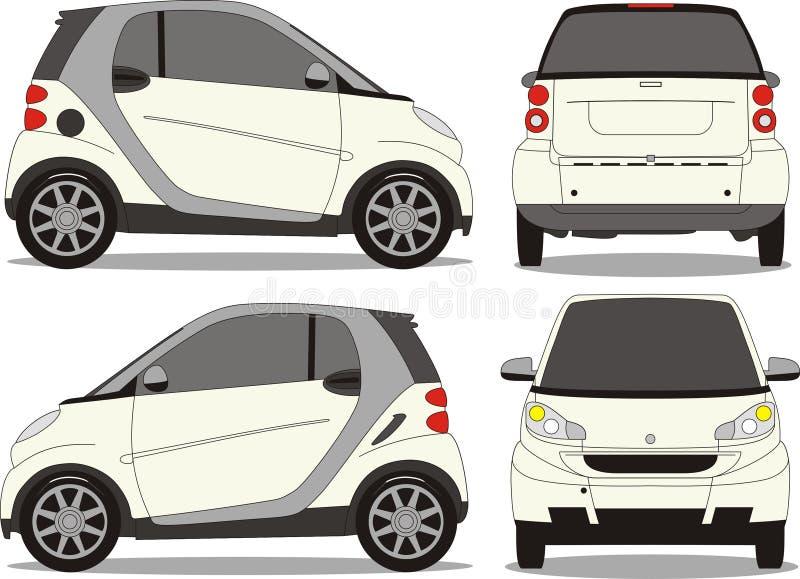 Arte pequena do vetor do carro ilustração do vetor