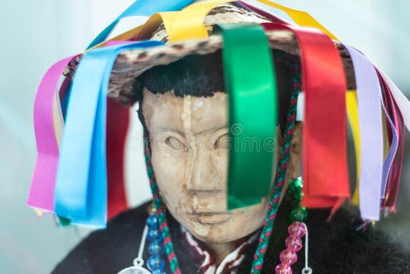 Arte popular tradicional da fita mexicana imagem de stock