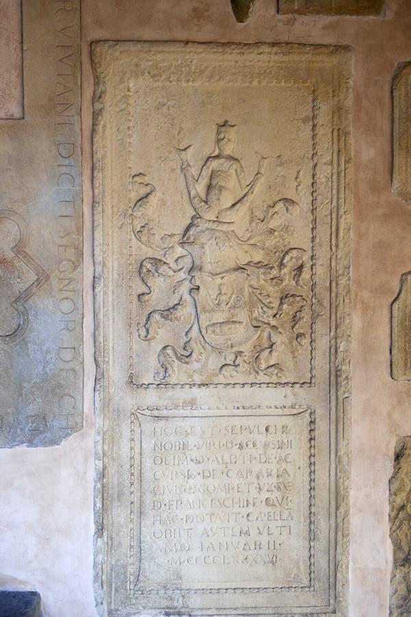 Arte religiosa medievale italiana fotografia stock