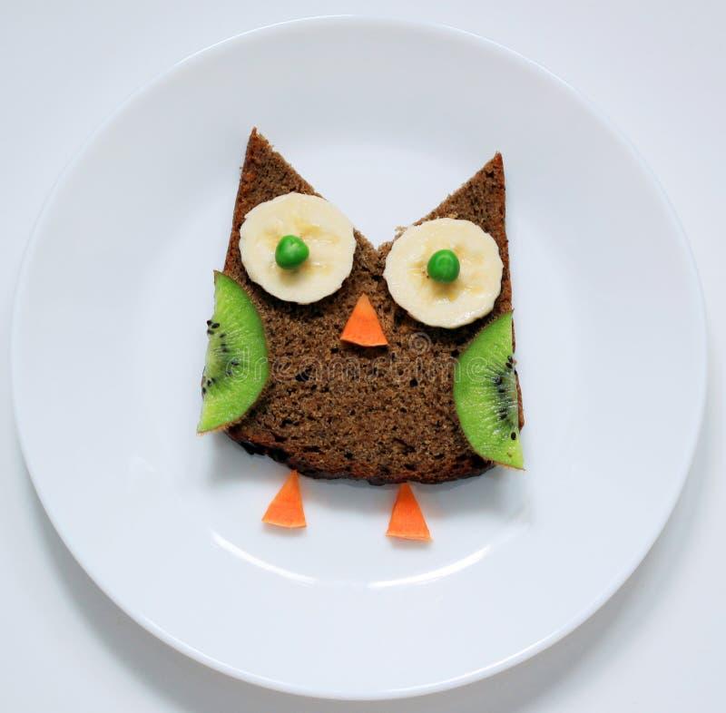 Arte sana dell'alimento per i bambini fotografie stock