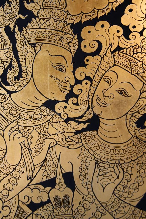 Arte tailandesa antiga fotos de stock