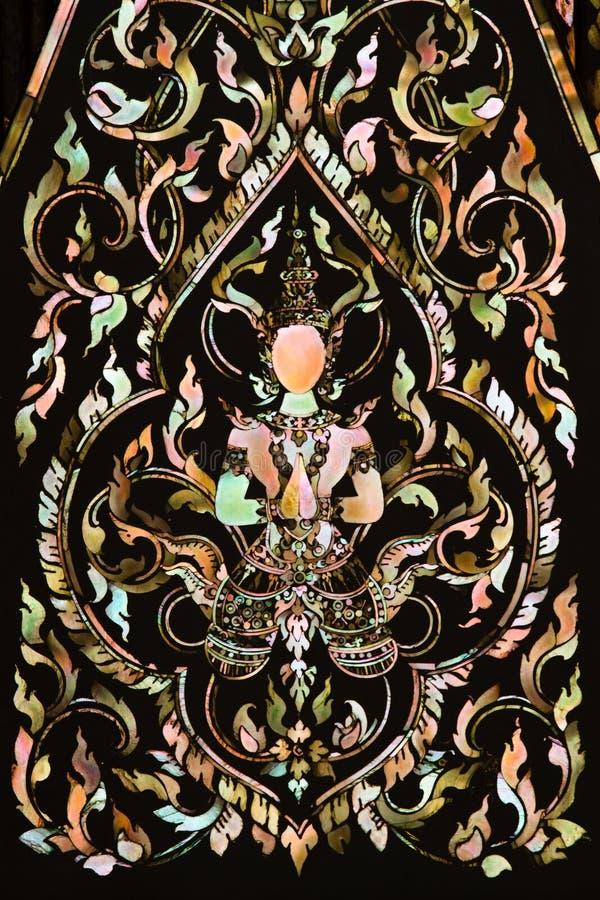 Arte tailandesa feita da pérola fotos de stock
