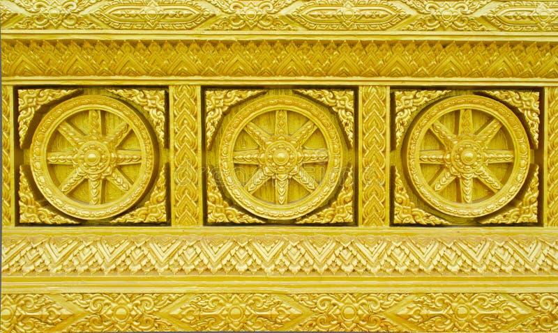 Arte tailandesa tradicional do molde do estilo foto de stock royalty free