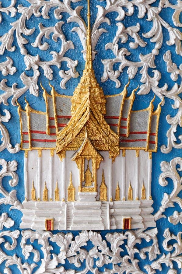 Arte tailandese tradizionale fotografie stock libere da diritti