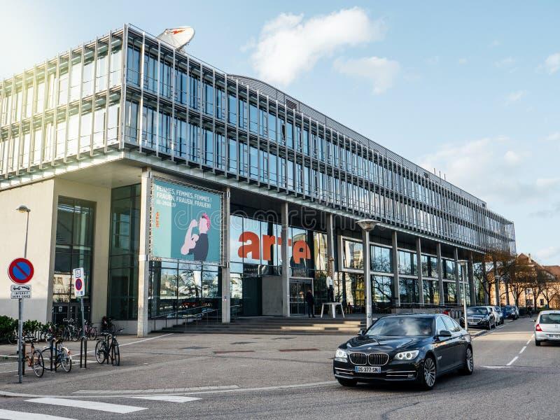 Arte Television Headquarter ? Strasbourg photo libre de droits