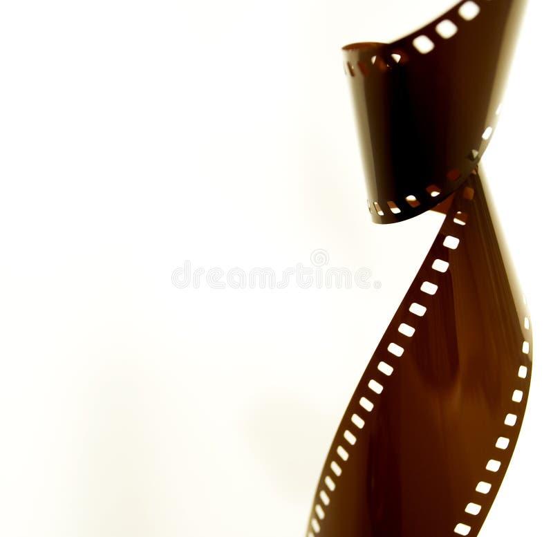 Arte torcido de la película fotografía de archivo libre de regalías